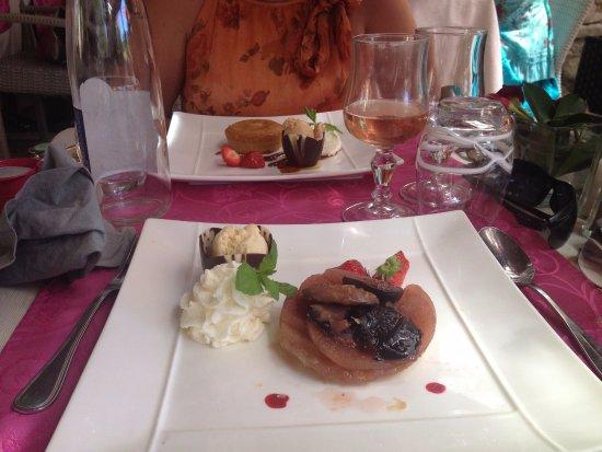 Auribeau-sur-Siagne, France: les desserts