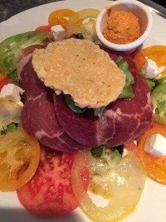 Le p'tit Goustan : Salade Tomates Anciennes