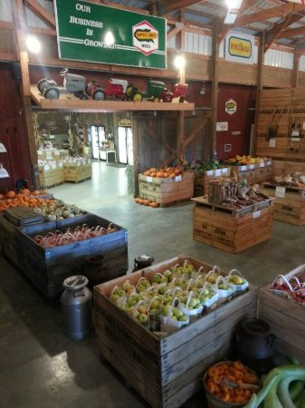 Winnebago, IL: Browse our fresh produce and gift items in our 100+ year old dairy barn