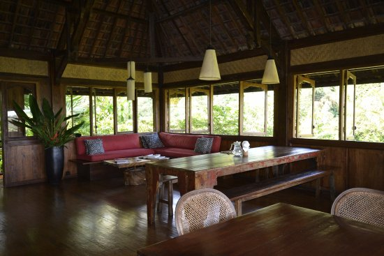 Bali Eco Stay Rice Water Bungalows: Restaurant