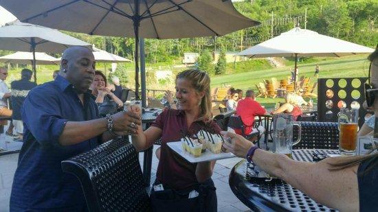 Palmerton, Pennsylvanie : Dessert time.