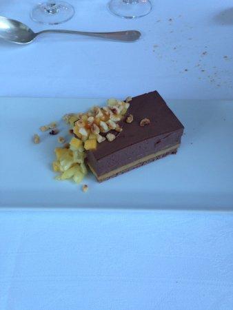 La Coquerie: le dessert ....un régal!