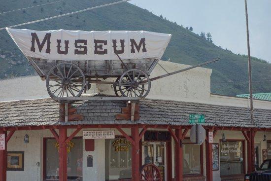 Jackson Hole Museum: Kutsche auf dem Dach