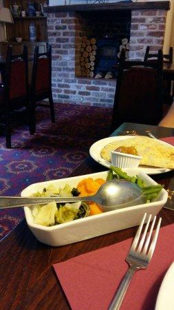 Little Budworth, UK: Braising steak and rogan josh
