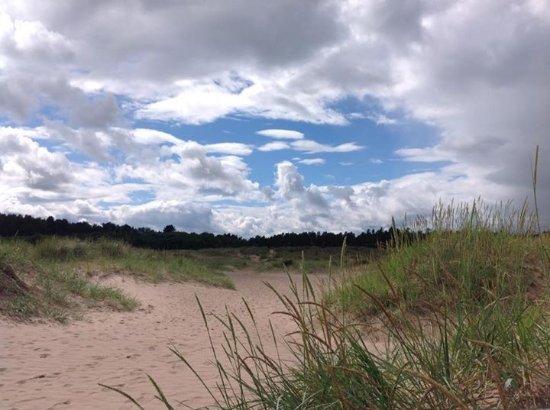 Fife, UK: Beach at Tentsmuir