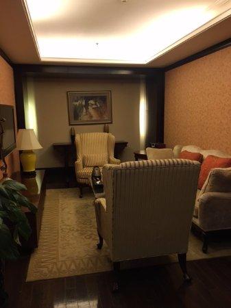 Han's Royal Garden Hotel: Lounge area