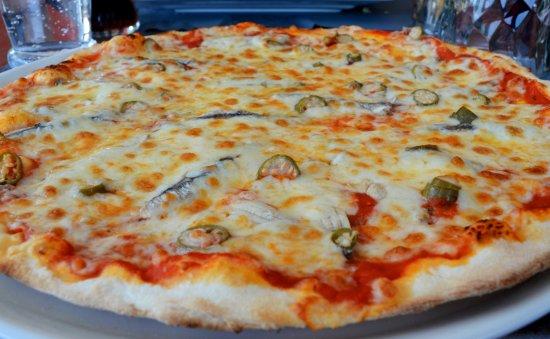 Le Passage, Frankrike: Pizza sicilienne (anchois et câpres)