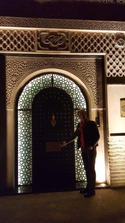 Le Riad Monceau: entrée