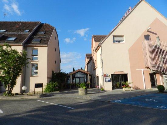 Erstein, Frankrig: Choisir les chambres coté droit qui sont neuves et modernes