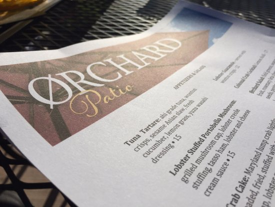 The Orchard Restaurant u0026 Bar Excellent food on paper plates & Excellent food on paper plates - Picture of The Orchard Restaurant ...