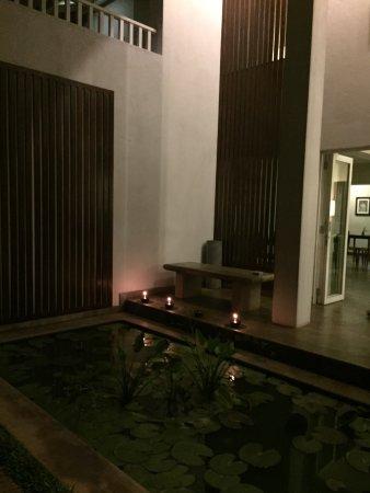 Taru Villas - Lake Lodge : Looking outside in