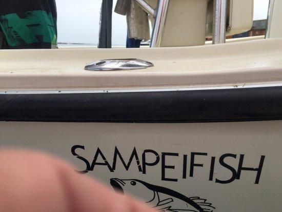 Boa Vista, Kap Verde: AL 21 Sampeifish... gran bella barca per uscite di pesca a vertical, traina, bolentino, con vivo