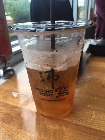 Sweetened Iced Black Tea