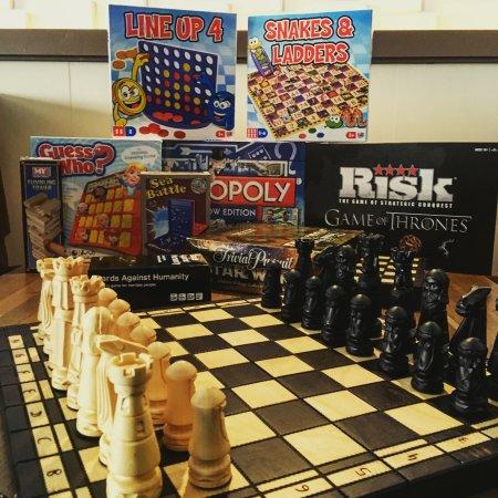 Campbeltown, UK: Board Games