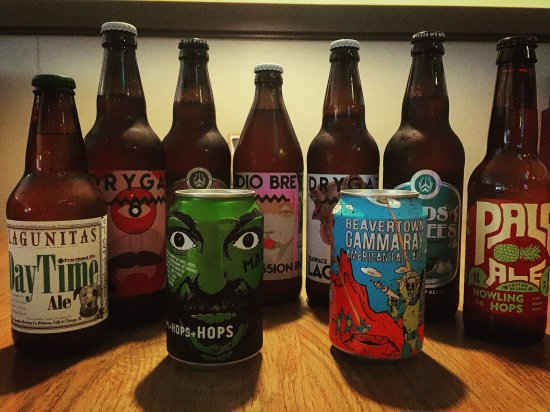 Campbeltown, UK: Every-changing craft brew selection