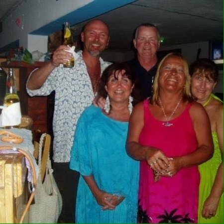 Miguel's Moonlight Lounge : Dear friends enjoying a night at Miguel's Moonlite Cafe
