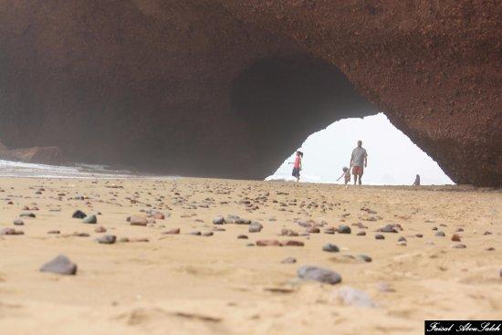 Legzira Beach: Paseo por Playa de Legzira