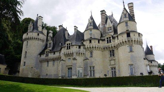Rigny-Usse, Франция: Chateau Exterior