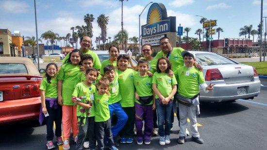 Τσούλα Βίστα, Καλιφόρνια: llegada al hotel