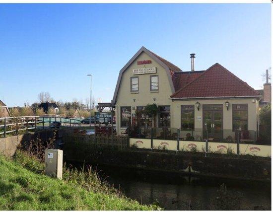 Schoorl, Nederländerna: Gezellig met sfeervolle openhaard.