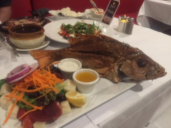 Little Brazil: My wife loved the whole fish