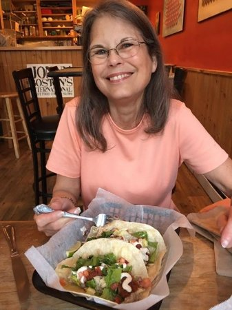 Newmarket, NH: Taco Tuesday with my wife.