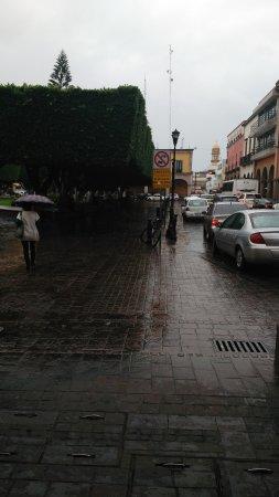 Foto de jard n principal celaya una tarde lluviosa for Jardin principal location