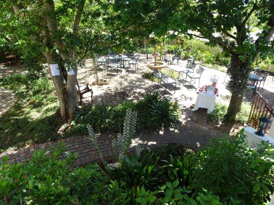 Malmesbury, Νότια Αφρική: Front garden