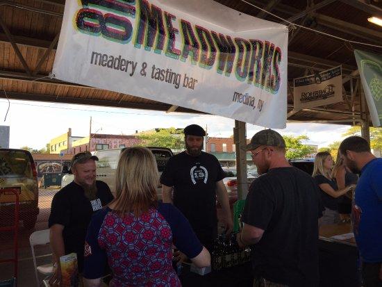Medina, นิวยอร์ก: At the Flour City Brewers Fest (August 2015)