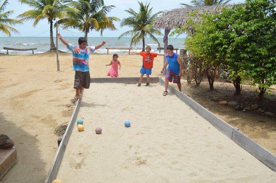 Hopkins Bay Resort, fun family friendly!