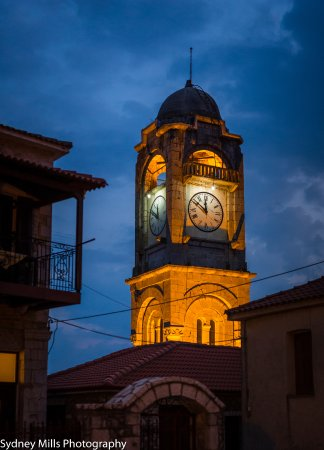 Amanites: Clock in the middle of the village