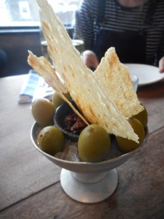 Jamie's Italian: The biggest olives ever