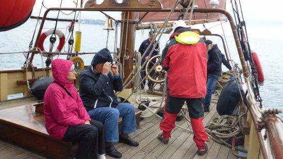 Brixham, UK: 6.5 knots full ahead