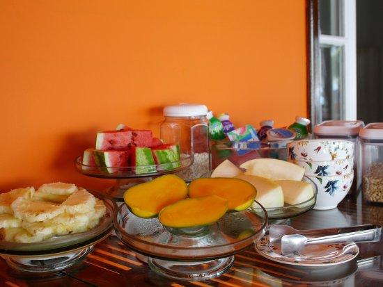 Sagu Mini Resort: Buffet cafe manha