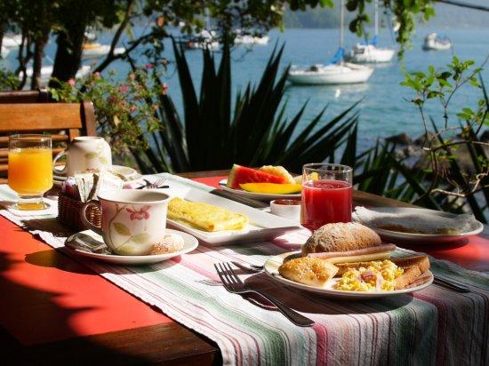 Sagu Mini Resort: Cafe manha com vista