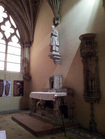 Cathédrale Saint Vincent : La cappella del Saint Curè d' Ars