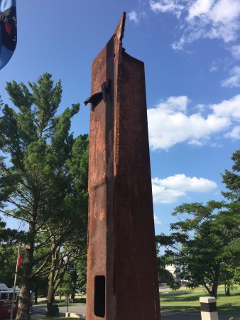 Point Lookout, MO: Steel column from one of the World Trade Center towers