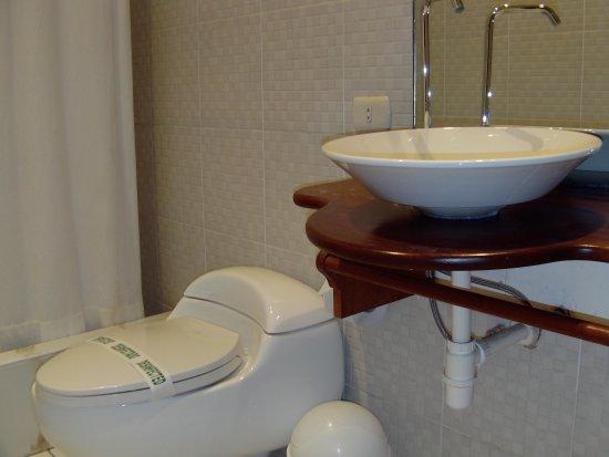Casa de Palos Boutique: Servicios higienicos de habitación