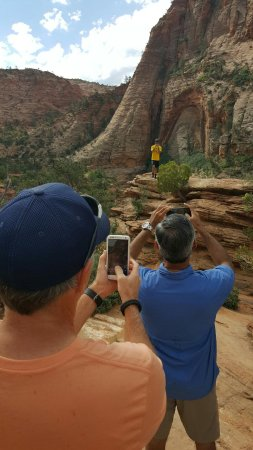 St. George, UT: Taking in Zion with our guide, Bob