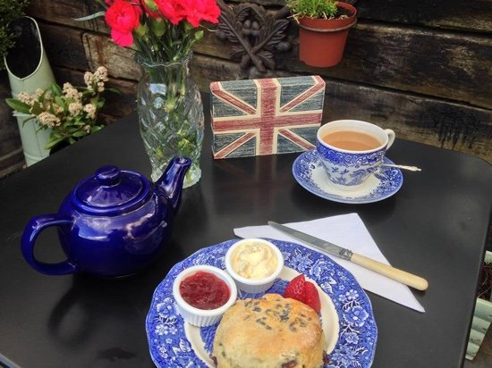 Cuckfield, UK: Speciality Cream Tea Varieties