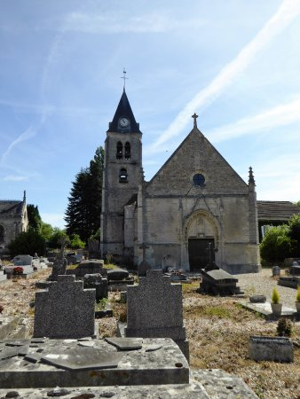 Villers En Arthies, França: eglise saint martin