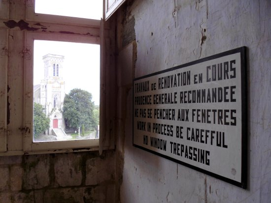 Apremont, França: Depuis la tour est