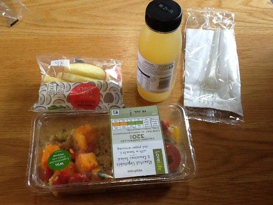 Potters Bar, UK: Salad meal deal