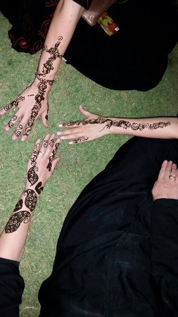 Salam Park : We had henna tattoos done in the park.