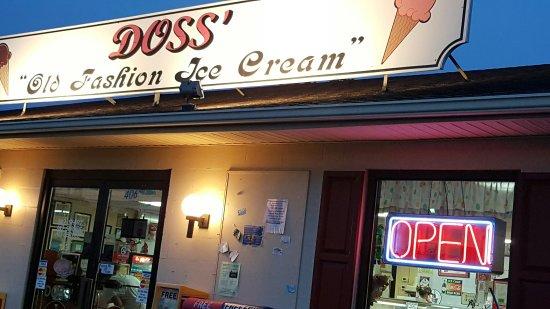 Kernersville, NC: Doss Old Fashion Ice Cream