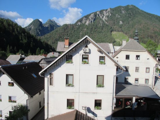 Hotel Kotnik: a view from room 201
