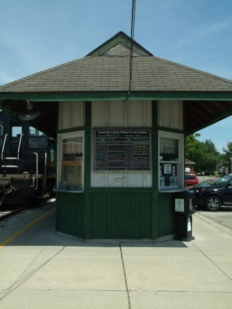 Coopersville & Marne Railway: place to buy tickets