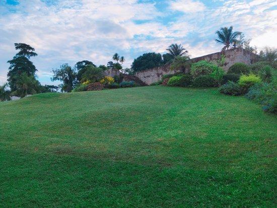 Balete, Filipinas: The garden