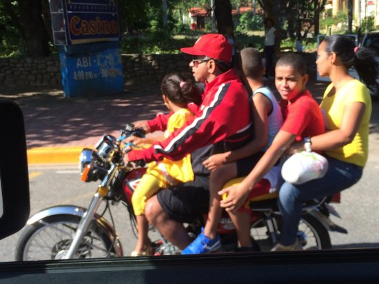 "Puerto Plata Province, Dominicaanse Republiek: ""gita domenicale in famiglia""  Puerto Plata"