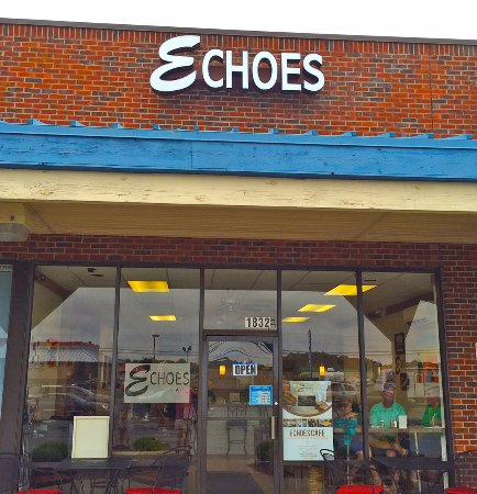 Echoes Cafe in the White Oak Shopping Center Tappahannock VA